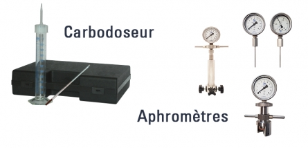 MEASURING INSTRUMENTS :  DISSOLVED CO2 & PRESSURE