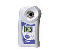 Digital pocket refractometer PAL-86S - 0 to 240° OeG - 0-53% Brix