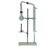 Volatile acidity extractor Duclaux-Gayon on stand with heating