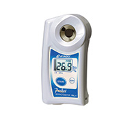 Digital pocket refractometer PAL-1 - Brix 0.0 to 53.0%