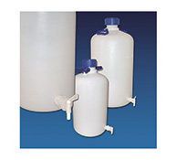 HDPE Aspirator bottle with spigot 5 L
