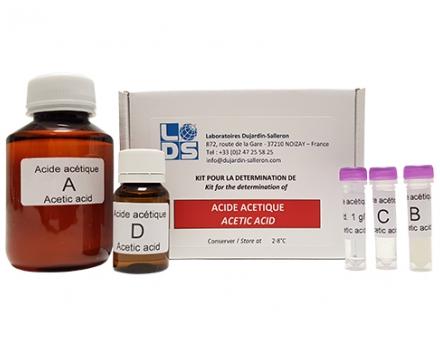 Kit acide acétique p/Spectro et DS Oenophoto