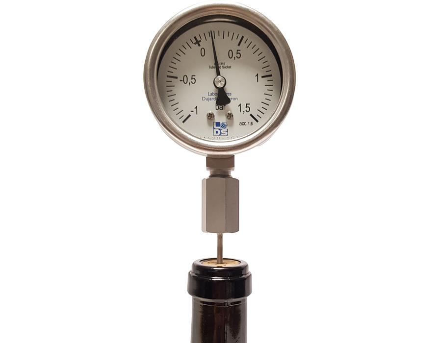 Aphromètre simplifié manovacuomètre -1/+1,5 Bars
